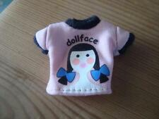 BRATZ DOLL CLOTHES JADE'S DOLL FACE T SHIRT FROM THE 2003 STRUT IT COLLECTION
