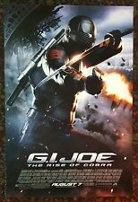 G.I. JOE: RISE OF COBRA Movie Poster 27x40 2-Sided Authentic Channing Tatum
