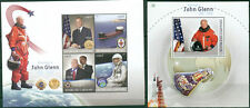 John Glenn Space Mercury Project NASA First Astronaut Earth Gabon MNH stamps set