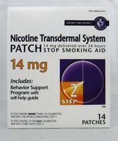 Habitrol Step 2 Nicotine Transdermal System 14mg 14 STOP SMOKING PATCHES (CSV)