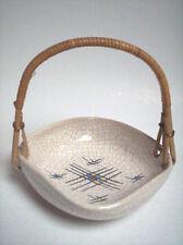Keramik Schale Silberdistel-Fayence West-Germany pottery design WGP 50s vintage