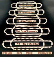 The New Virginians - Pour On The Power 33 RPM Vinyl LP Record VA Tech