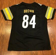 Pittsburgh Steelers #84 Antonio Brown Nike NFL On Field Youth Kids Jersey Medium