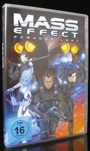 DVD MASS EFFECT - PARAGON LOST - DER FILM ZUM VIDEOSPIEL *** NEU ***