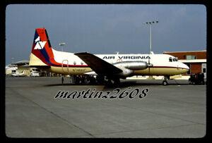 ORIG. AVIATION / AIRLINE SLIDE  AIR VIRGINIA  N748AV