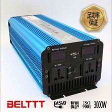 3000W/6000W Peak PURE SINE WAVE POWER INVERTER DC12V - AC220V off-grid invertor