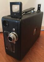 Stunning Rare Vintage (c1929) Cine Kodak Model B-B 16mm Camera Amazing Condition