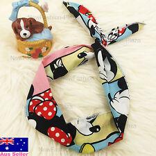 Large Size Korean Mickey Style Ribbon Headband/Wrap Hair Scarf Tie Bow STP