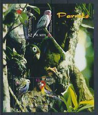 LM16323 St Kitts animals fauna flora birds good sheet MNH