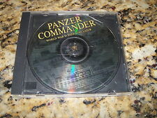 Panzer Commander World War II Tank Simulator (PC, 1998)