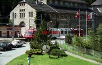 PHOTO  SWITZERLAND CHATELARD 1995 TRAM SNCF V2