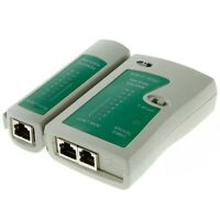 New Hot RJ45 RJ11 Cat5 Network Lan Cable Tester Ethernet Test Tool Durable