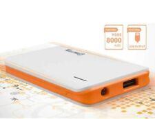 Banco de alimentación externa 8000mAh portátil USB cargador de batería para todos los teléfonos móviles