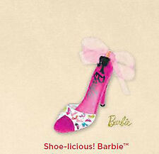 2012 Hallmark BARBIE Ornament SHOE-LICIOUS! Pink High Heels *PRIORITY SHIP