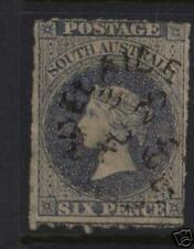 South Australia #12 Used With Aug 29 1866 Cancel