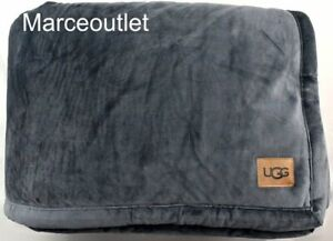 """UGG Australia Bliss Sherpa Faux Shearling Throw 50"""" X 70"""" Imperial"""