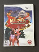 NIP Nintendo Wii Rudolph the Redness Reindeer Video Game Animated Christmas