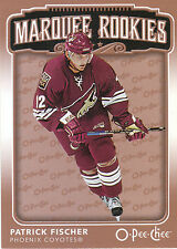 06-07 O-PEE-CHEE OPC ROOKIE RC #555 PATRICK FISCHER COYOTES *2414