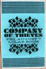 COMPANY OF THIEVES 2009 Gig POSTER Portland Oregon Concert