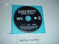 CALL OF DUTY: WORLD AT WAR game only in plain case - Nintendo Wii