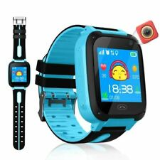 GPS Tracker Kids Camera Smart Watch Mirco SIM Calls Anti Lost LBS SOS Location A