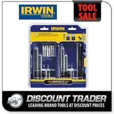 """Irwin Impact Tapcon® 1/4"""" Hex Drive Installation Drill / Drive Set 9Pc 1881131"""