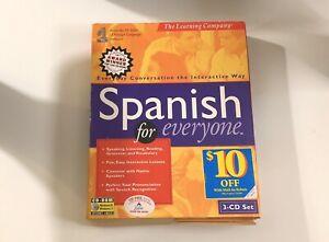 Spanish For Everyone 3 CD Set