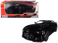 2017 Chevrolet Camaro ZL1 Diecast 1:24 Model Black - Motormax - 79351BK *