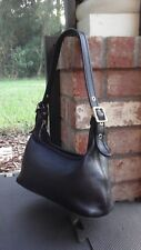 Vtg COACH 9059 Legacy Classic Black Leather Shoulder Hobo Handbag Purse