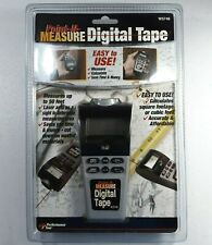 POINT N MEASURE DIGITAL TAPE MEASURE CALCULATE SQUARE FOOTAGE OR CUBIC FEET, NEW