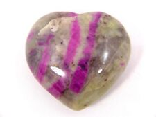 BUTW Natural Ruby in Feldspar Healing  heart shape   2206P