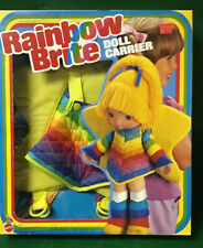 Rainbow Brite:Doll Carrier Vintage Nib By Mattel