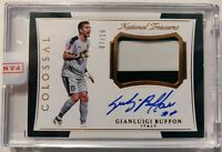 2018 NATIONAL TREASURES SOCCER * GIANLUIGI BUFFON #7/10 AUTO! SSP ON CARD SPAIN!