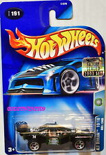 Hot Wheels 2003 Alt Terreno Roll-Bar #191 Verde Sigillato in Fabbrica