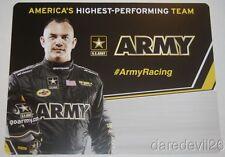 2016 Tony Schumacher Army Top Fuel NHRA postcard
