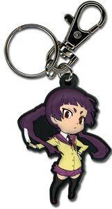 **Legit** Blue Exorcist Izumo Authentic PVC Keychain #5116