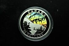 """2004 $20 Canada """"Northern Lights"""" Silver Coin"""