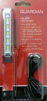HL28 5 LED & Torch Inspection Rechargeable Pen Inspection Light MOT MECHANIC CAR