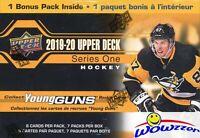 2019/20 Upper Deck Series 1 Hockey HUGE Factory Sealed Blaster Box-YOUNG GUN RC