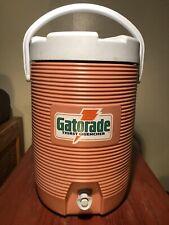 New listing Vintage Gatorade Water Cooler 3 Gallon Drink Dispenser Rubbermaid 1683 Handle