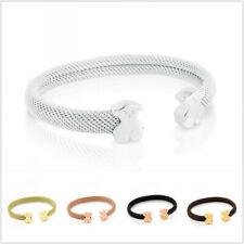 2020 New Teddy Bear Mesh Bracelet Women Stainless Steel Bear Bangle Jewelry Gift