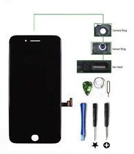 Für iPhone 7 4.7 Schwarz LCD Display Touchscreen RETINA HD + Werkzeug + Panze...