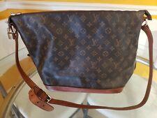 Louis Vuitton shoulder bag large monogram canvas