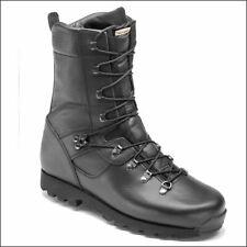 Botas de combate militar Sneeker Microlite Altberg Boot-Negro
