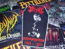 Mayhem Coffin Patch Euronymous Black Metal Sigh Morbid