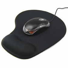 Black Comfort Wrist Gel Rest Support Mat Mouse Mice Pad Computer PC Laptop Soft