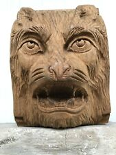 Beautiful Ugly face Carving in wood