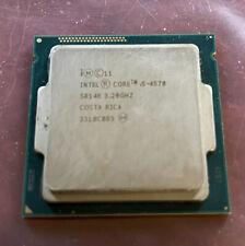Intel Core i5-4570 3.2GHz Quad Core SR14E CPU Processor