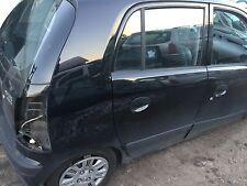 Hyundai Atos (MX) Tür hinten rechts in schwarz 2006 Baujahr