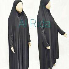 Ladies Black full length Khimar /hijab abaya size 54